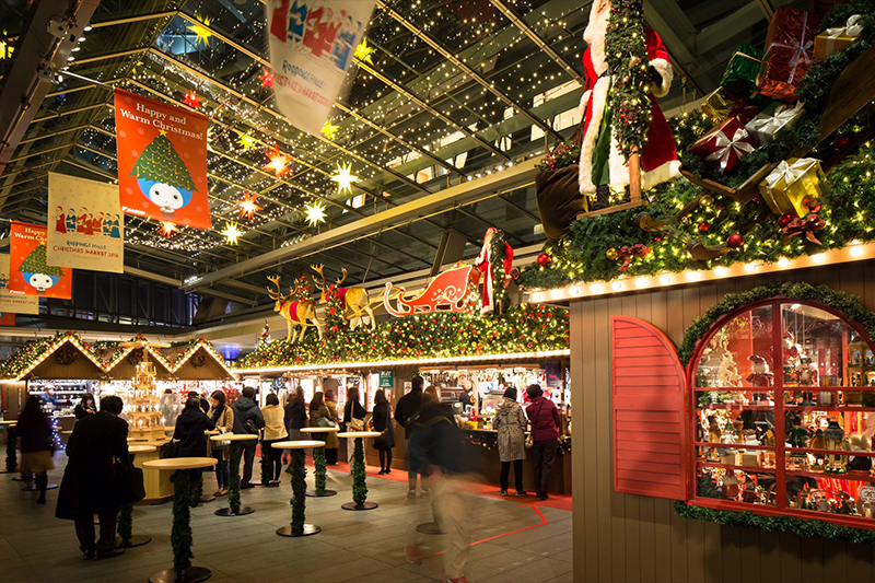 gorgeous Christmas markets in Asia