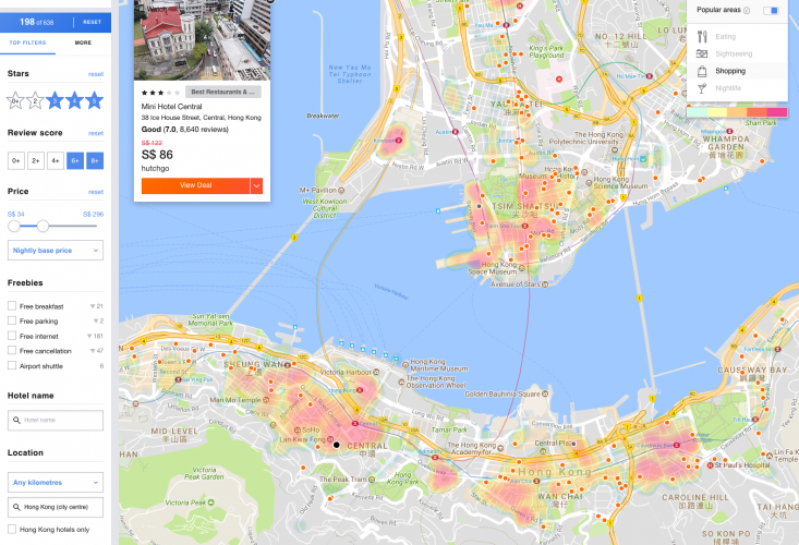 Find cheap accomodation in Hong Kong