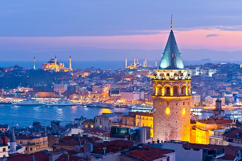 土耳其伊斯坦布尔加拉太塔
