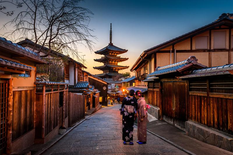 日本京都宝塔寺