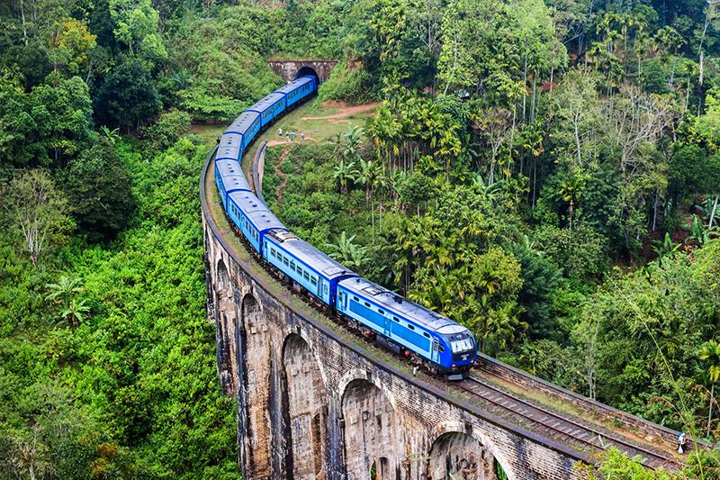 斯里兰卡德摩达拉九孔桥