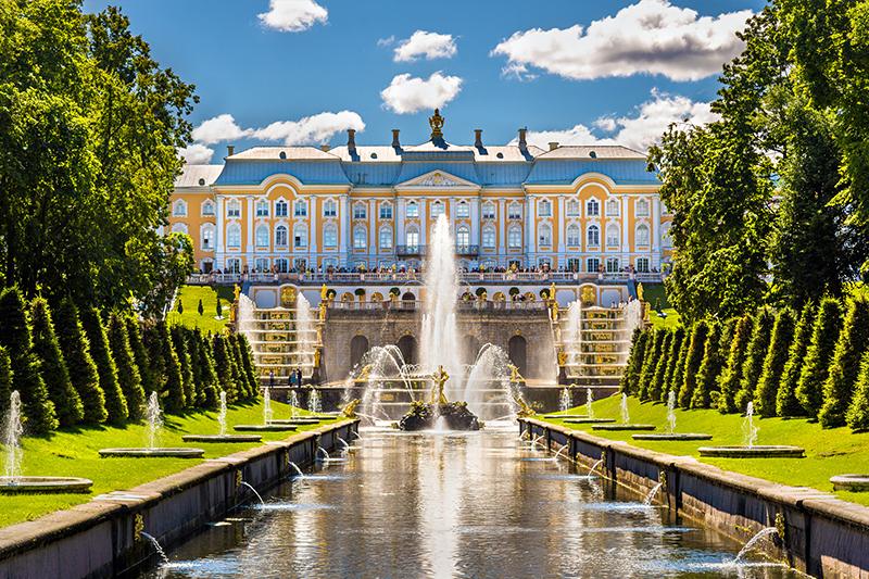 圣彼得堡彼得霍夫宫