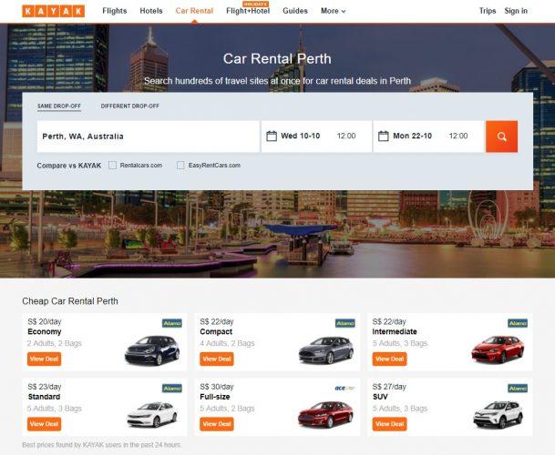 How To Rent A Car In Perth & Western Australia Road Trip Ideas