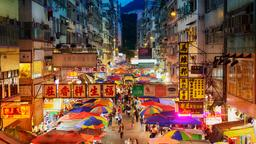 Find cheap flights from Singapore to Hong Kong