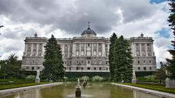 Madrid hotels near Jardines de Sabatini