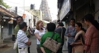 Peacock Trail Walking Tour in Mylapore