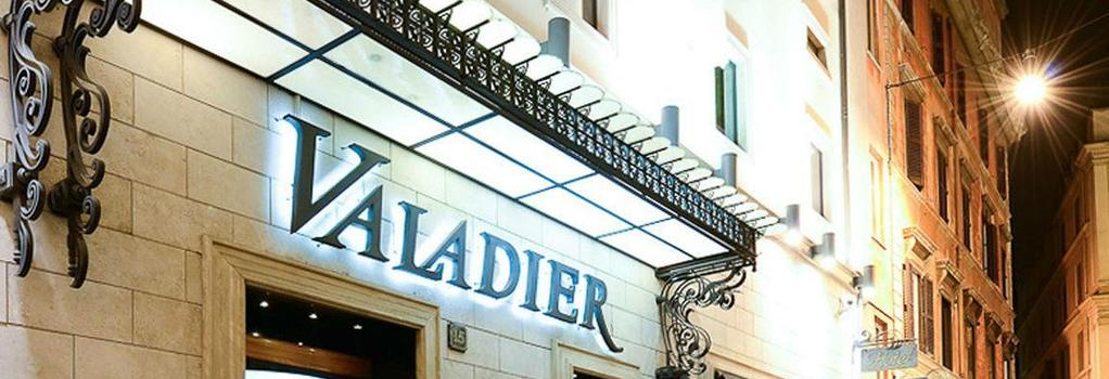 Valadier Hotel - Rome - Building