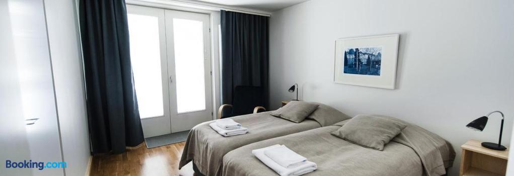 Töölö Towers - Helsinki - Bedroom