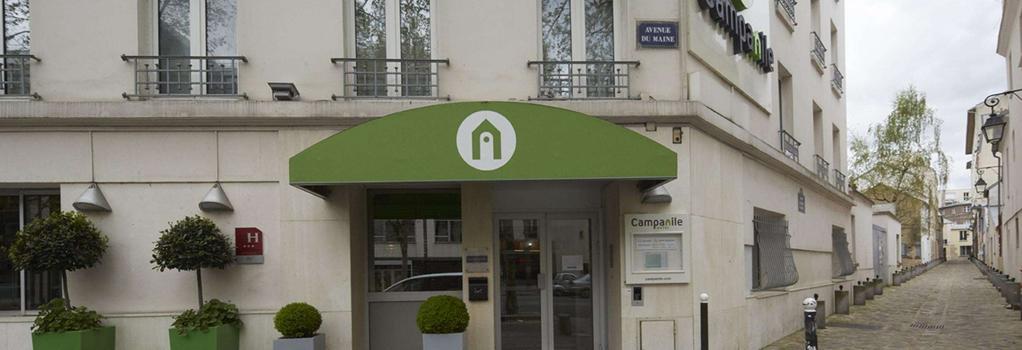 Hotel Campanile Paris 14 Maine Montparnasse - Paris - Building