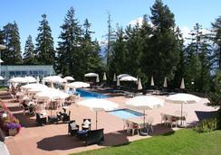 Hotel Valaisia - Crans-Montana - Pool