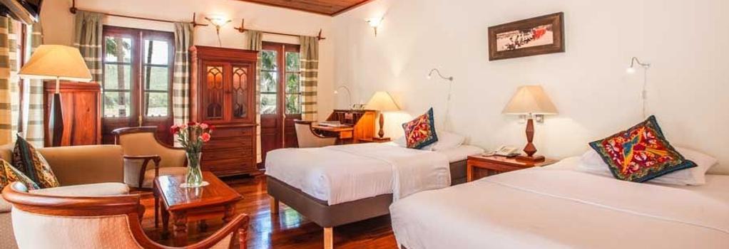 Mekong Riverview Hotel - Luang Prabang - Bedroom