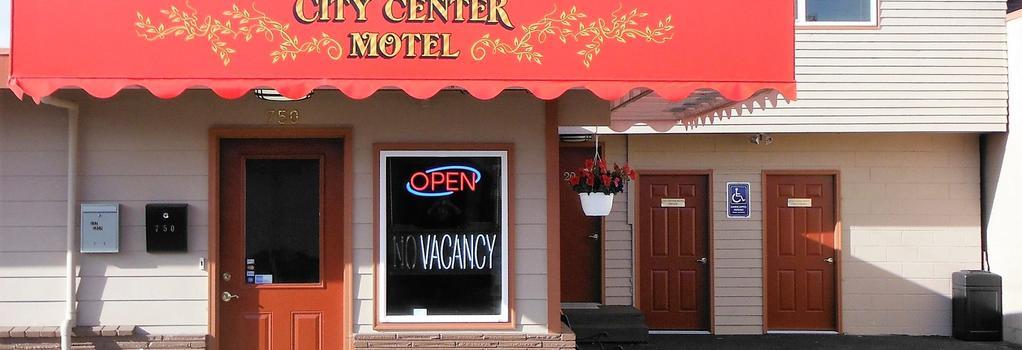 City Center Motel - North Bend - Building