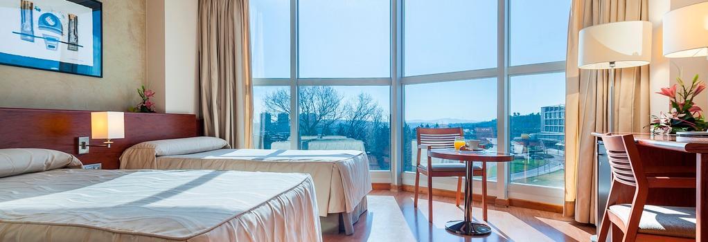 Hotel Don Candido - Terrassa - Bedroom