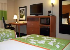 Fairfield Inn and Suites by Marriott Salt Lake City Airport - Salt Lake City - Bedroom