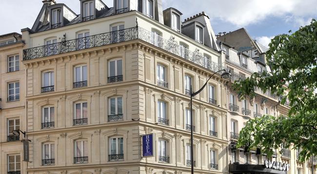 Contact Hotel Alizé Montmartre - Paris - Building