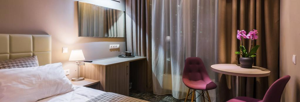 Panorama City Hotel - Moscow - Bedroom