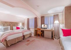Hotel Central - Crans-Montana - Bedroom