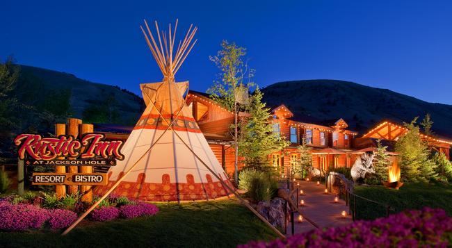 Rustic Inn Creekside Resort And Spa at Jackson Hole - Jackson - Building