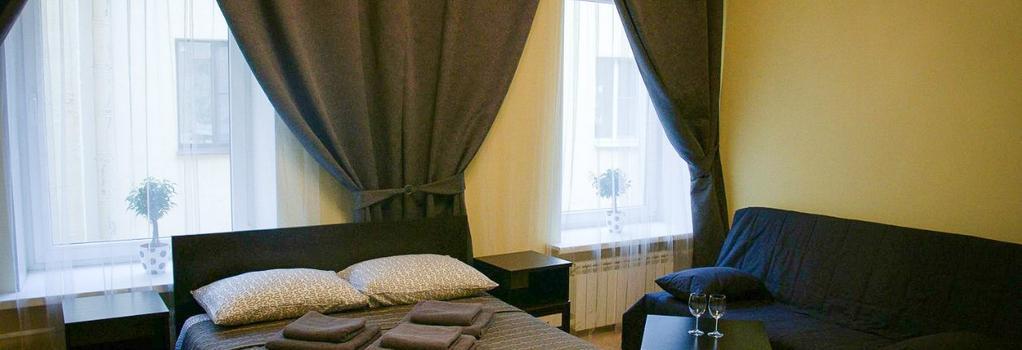 Mini Hotel Belaya Noch - Saint Petersburg - Bedroom