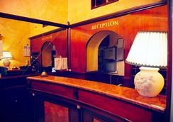 Hotel Tre Stelle - Rome - Front desk