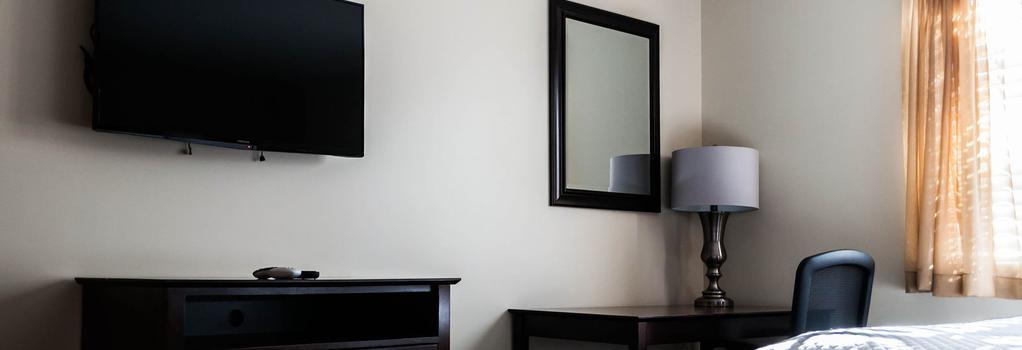 Holmesuites Inn - Columbus - Bedroom
