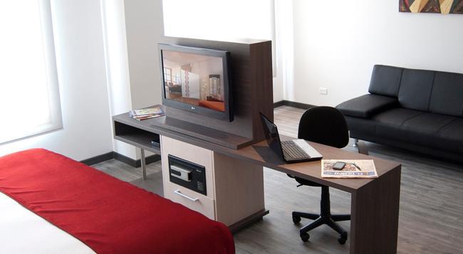 Calleja Suites - Bogotá - Bedroom