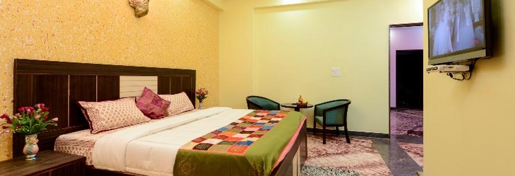 Rainbow Home Stay - Agra - Bedroom