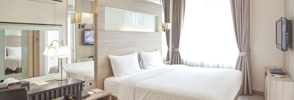 V Residence Serviced Apartment - Bangkok - Bedroom