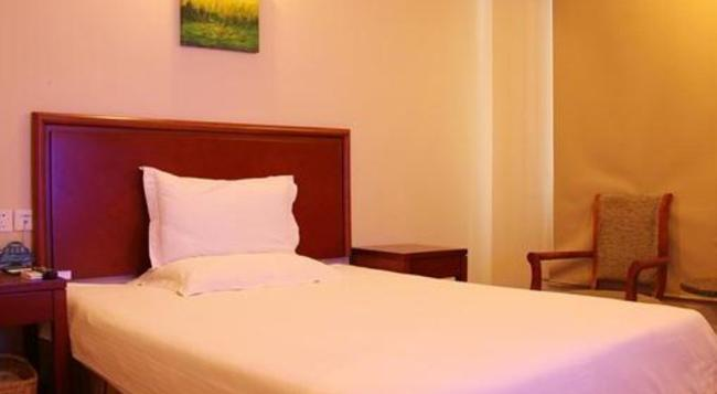 Greentree Inn Jiangsu Yancheng Dafeng Huanghainorth Road Changxins) Road Business Hotel - Yancheng - Bedroom