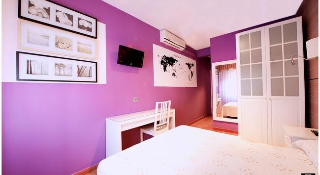 Hostal Los Ángeles - Madrid - Bedroom