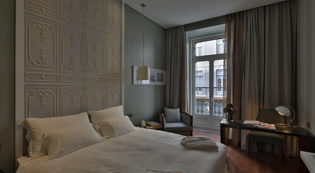 Pousada de Lisboa, Praça do Comércio - Monument Hotel - Lisbon - Bedroom