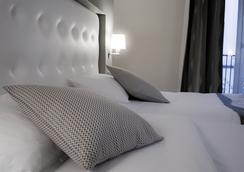 Inter-Hôtel le Bristol Strasbourg Centre-Gare - Strasbourg - Bedroom