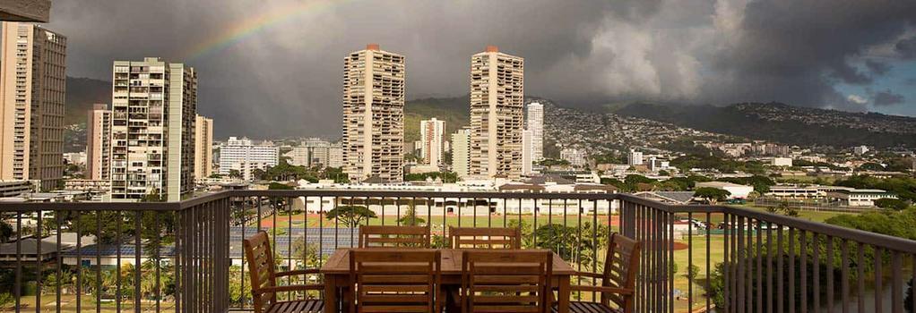 Coconut Waikiki Hotel - Honolulu - Balcony