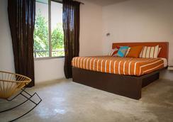 Teetotum Hotel Restaurant Lounge - Tulum - Bedroom
