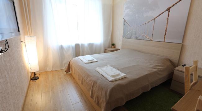 Eco Hostel - Tomsk - Bedroom
