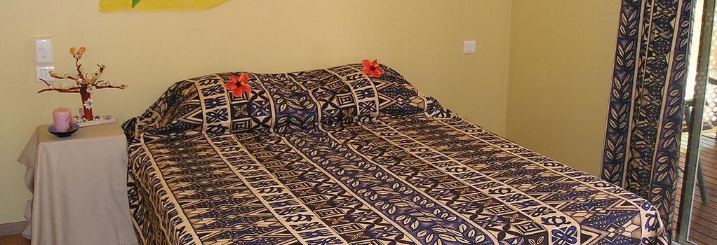 Pension Bounty - Rangiroa - Bedroom