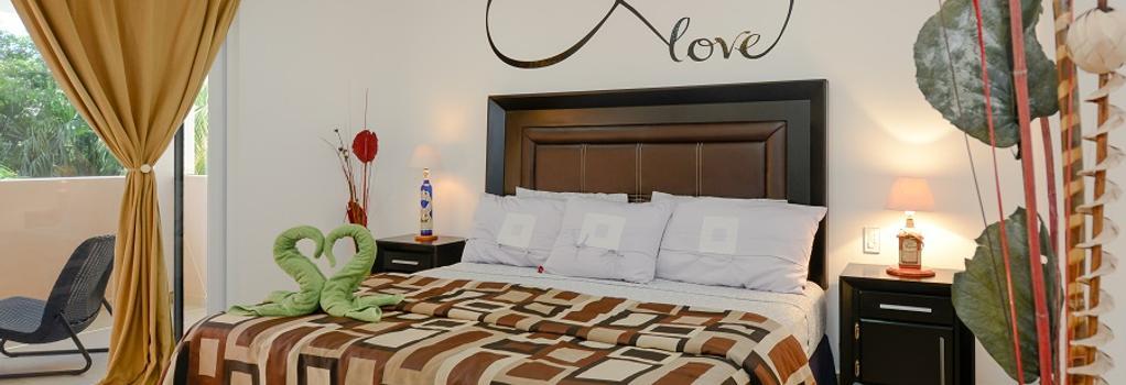 Villas Picalu B&b Boutique - Puerto Aventuras - Bedroom