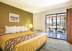 Super 8 Las Vegas Strip Area at Ellis Island Casin - Las Vegas - Bedroom