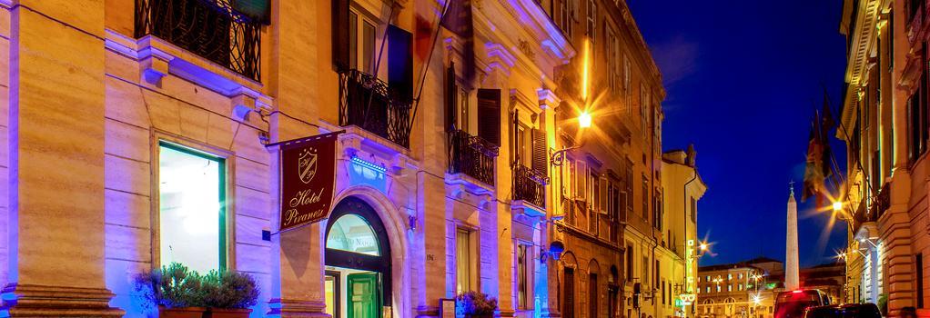 Hotel Piranesi - Rome - Building