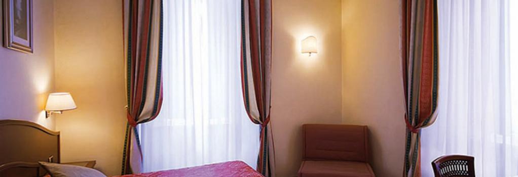 Hotel Dolomiti - Rome - Bedroom