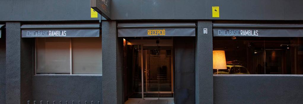 Chic & Basic Ramblas - Barcelona - Building