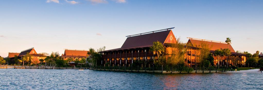 Disney's Polynesian Resort - Lake Buena Vista - Building