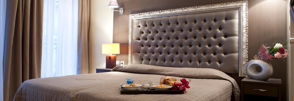 Hotel Lebron - Paris - Bedroom