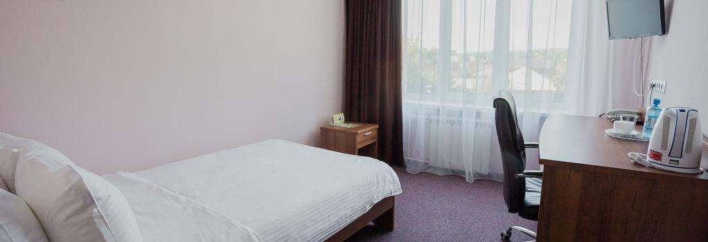 Hotel Polyot Krasnoyarsk - Krasnoyarsk - Bedroom