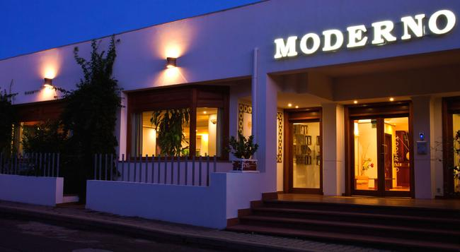 Hotel Moderno - Olbia - Building
