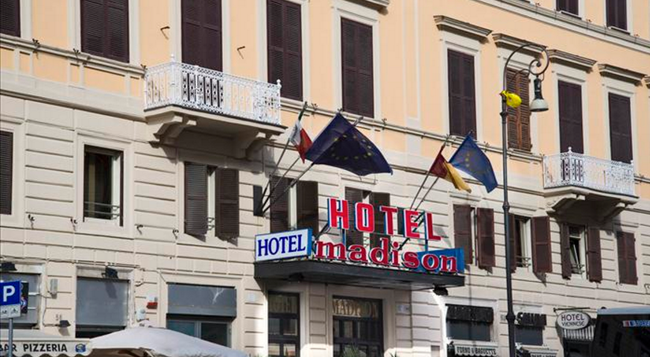 Hotel Madison - Rome - Building