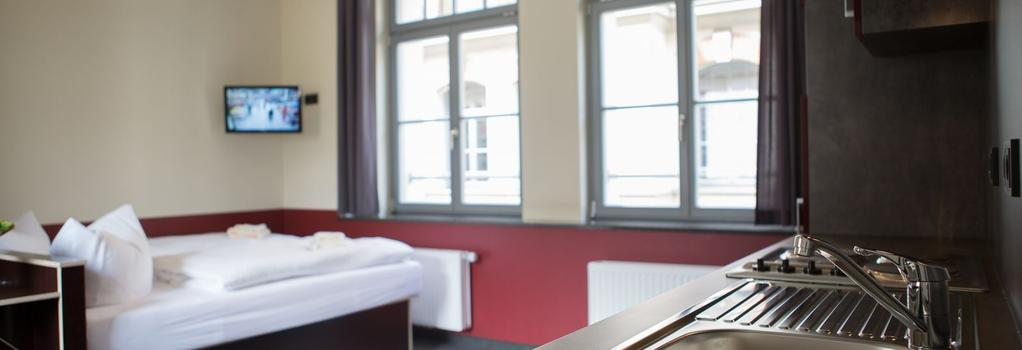 Aparion Apartments Leipzig City - Leipzig - Bedroom