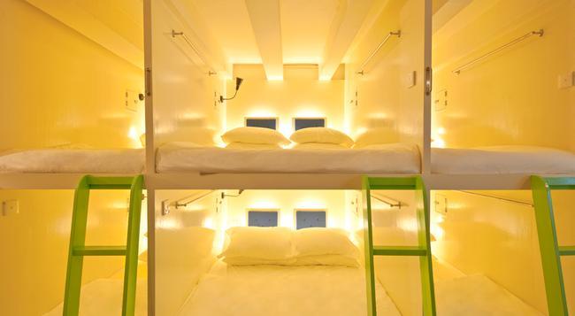 Box Capsule Hostel - Singapore - Bedroom