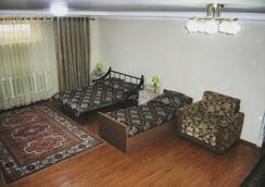 The Zhibek-Zholu Guest House - Bishkek - Bedroom