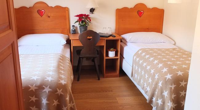 Hotel Restaurant Panorama - Crans-Montana - Bedroom